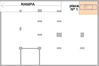 Plano del garaje